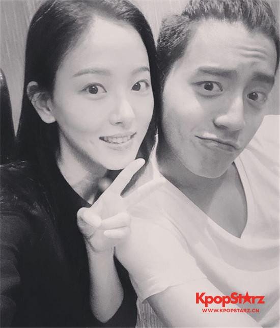 王大陆-姜汉娜海外旅行再传恋爱说 即使这样也不承认?