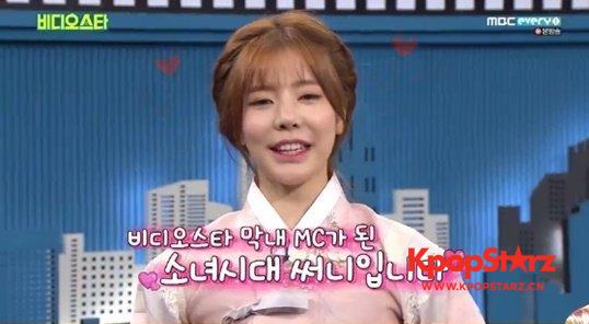 Sunny作为活力素称《Video Star》MC 会为姐姐们照亮昏暗
