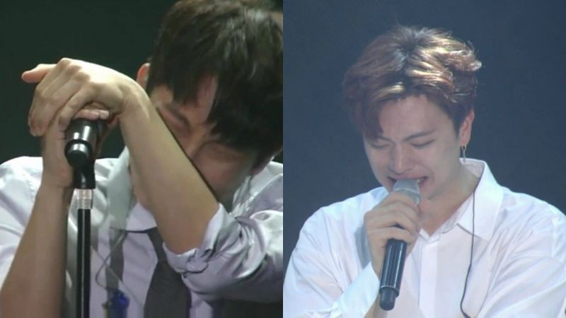 BTOB大哥line即将入伍,成员泪洒演唱会,和Melody依依不舍TT