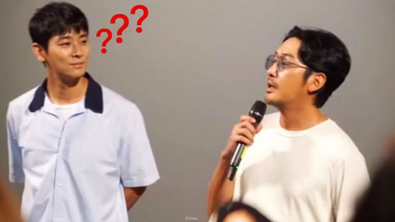 「真的只有他会这样做~」河正宇《与神同行2》舞台上宣传竞争作品!连朱智勋都懵了XD