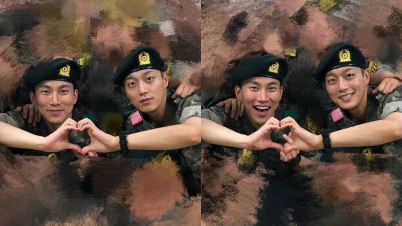两位队长在军队里相遇了!Highlight尹斗俊、BTOB徐恩光被分配至同一个宿舍