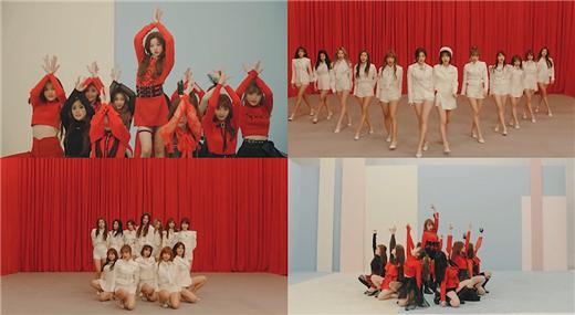 IZ*ONE出道曲MV點擊破1800萬 特別公開表演版本
