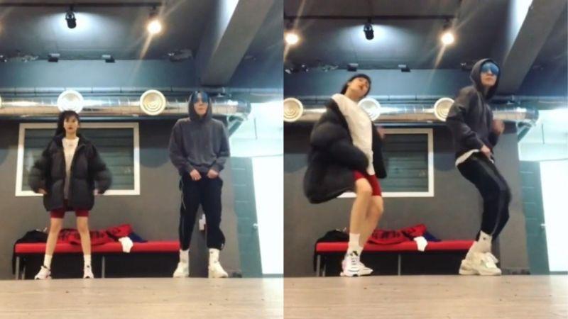 泫雅更新与E'Dawn双人舞练习影片!让网友表示:「太甜了,两人跳舞都好好看!」