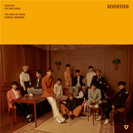 SVT最新团体预告照公开 预告历代级专辑将诞生