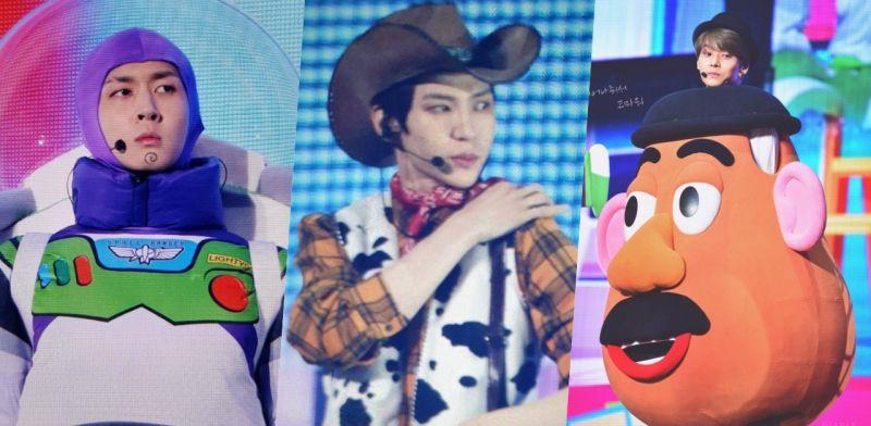 VIXX见面会全员cosplay《Toy Story》热舞名曲《Fantasy》!