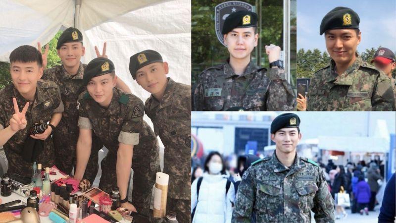 这些欧爸要回来啦!池昌旭、曺圭贤、李敏镐、玉泽演、姜河那等人都将在上半年退伍!