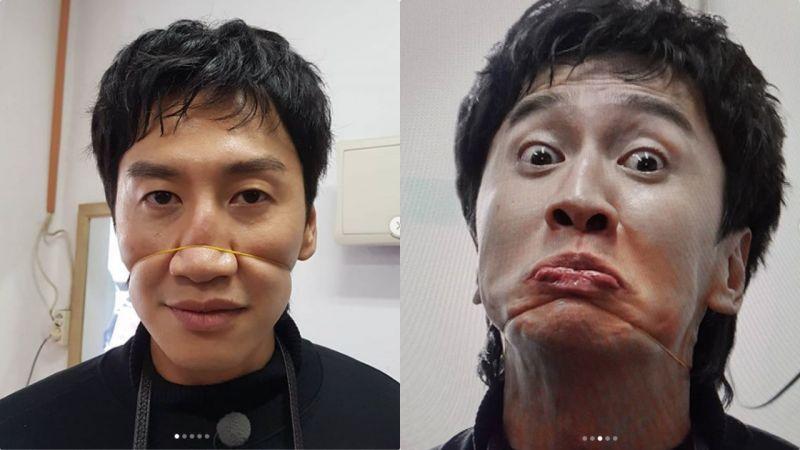 努力的人最可怕!李光洙「狰狞」表情包上线,「死亡凝视」你怕了吗