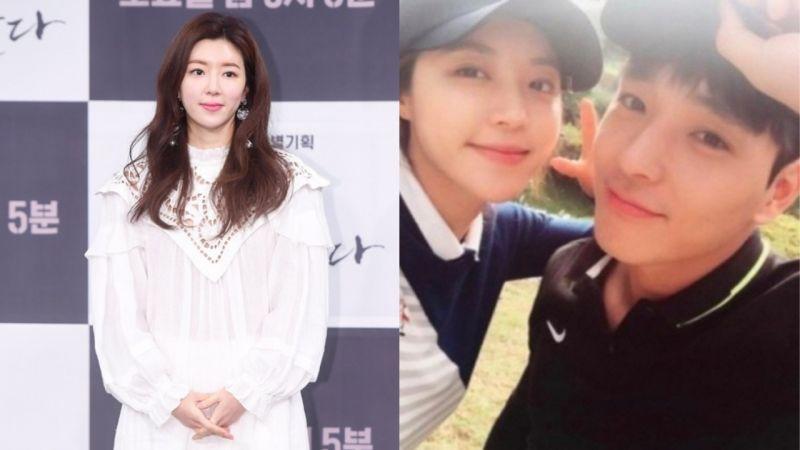 朴韩星被曝曾和丈夫刘仁硕与总警一起打高尔夫球,与日前发表的立场不同!网友:「从电视剧下车吧!」