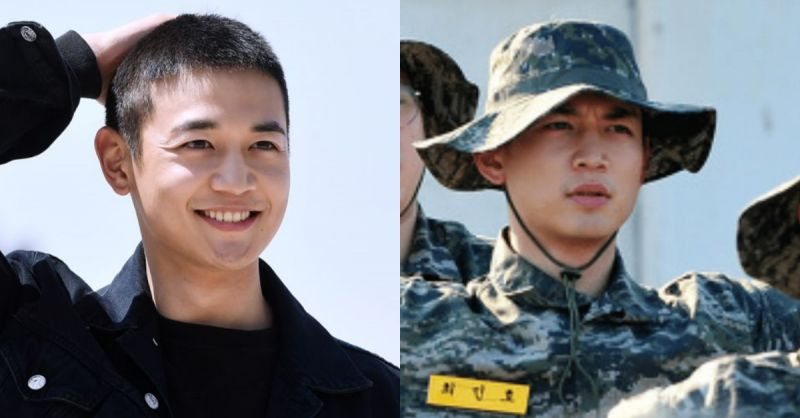 SIHNee珉豪在海军陆战队的照片公开! 从现在起是帅气军人