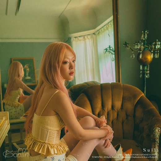 雪莉26日公开新专辑《Goblin》MV预告片