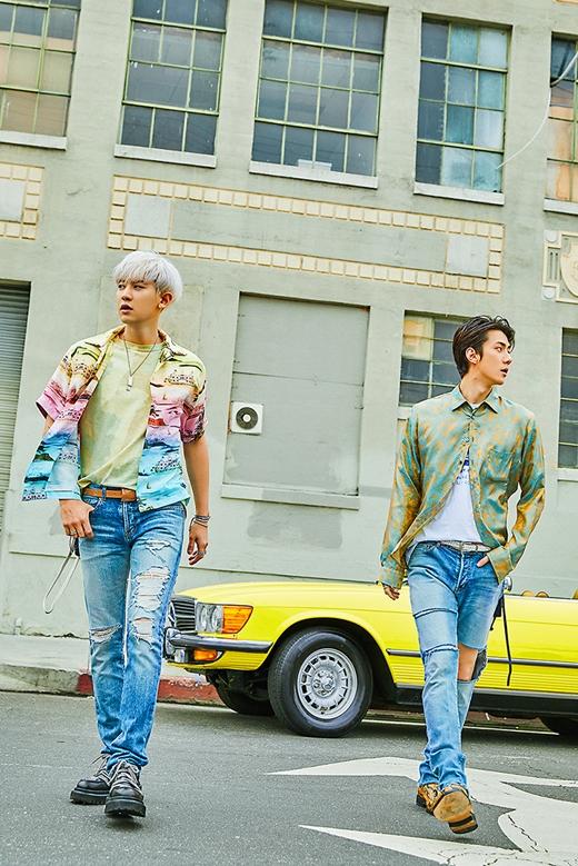 EXO新小分队世勋&灿烈 7月22日发售迷你专辑《What a life》