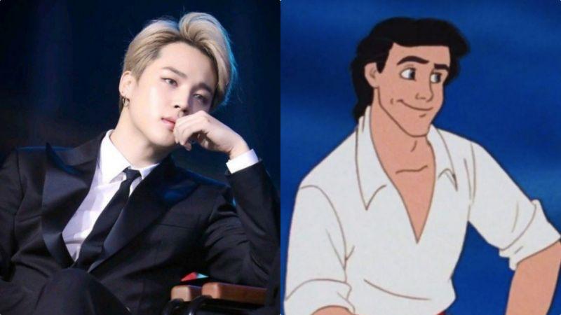 BTS防弹少年团JIMIN:大家都在求你快演《小美人鱼》王子!全球40多家媒体报道了,会不会成真呢?
