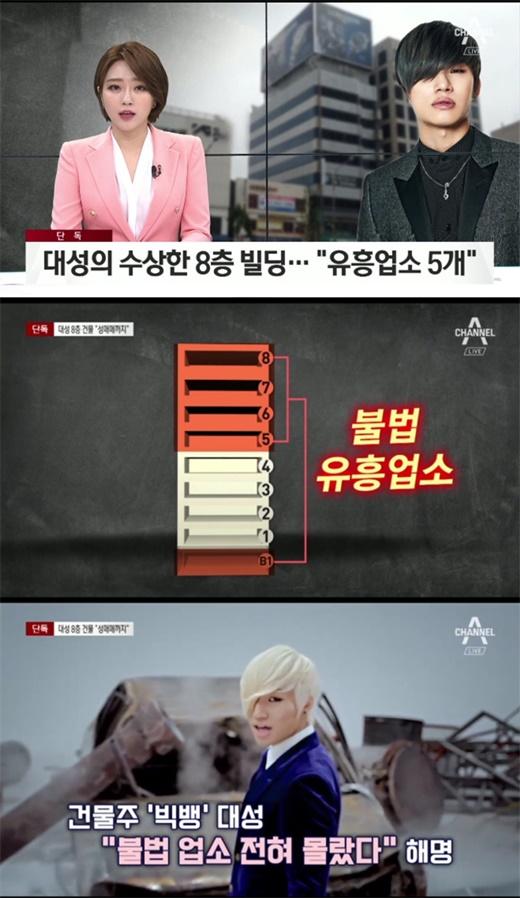 Bigbang成员姜大声被爆名下建筑涉嫌运营娱乐场所