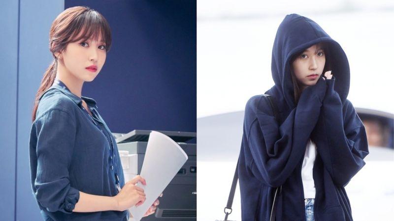 因健康问题中断活动的TWICE成员Mina,在妈妈陪同下回韩国!JYP:「没有特别的理由或日程,正在休息中!」