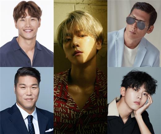 伯贤X徐章勋X朴俊亨X金钟国X朱宇宰确定出演JTBC中秋特辑《奇怪的五兄弟》