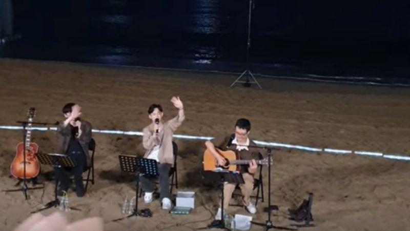 【有片】EXO CHEN突袭街头开唱!偶遇他的粉丝都是什么神仙运气啊~
