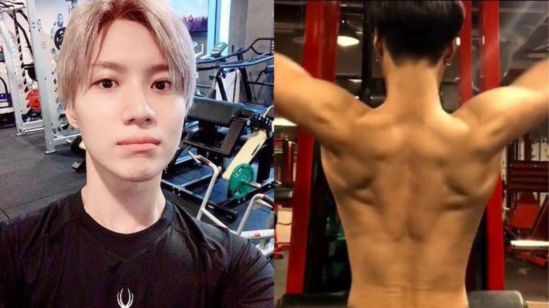 SHINee泰民公开健身照和影片!展现背部肌肉线条,让粉丝直呼:「天使脸蛋魔鬼身材!」