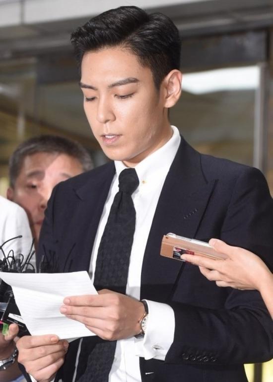 T.O.P(崔胜铉)将要再进行入伍审查 完成剩余的520日兵役