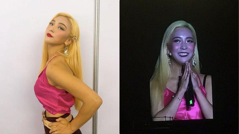 Luna自己化上的舞台妆会是如何?妆容翻车:惊变萤光脸!