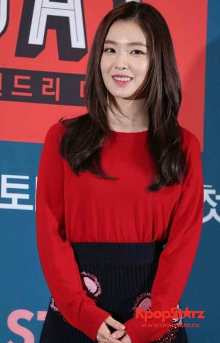 Irene获8月女团个人品牌评价一位 第二名是允儿