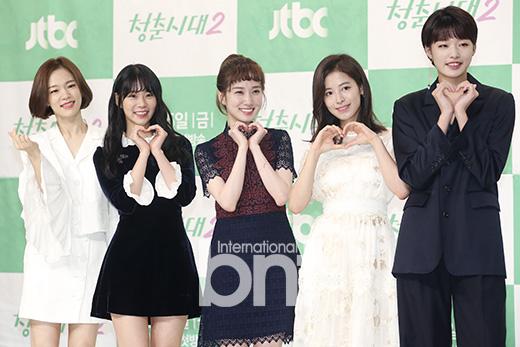 《青春时代2》举行发布会 韩艺璃韩胜妍等出席