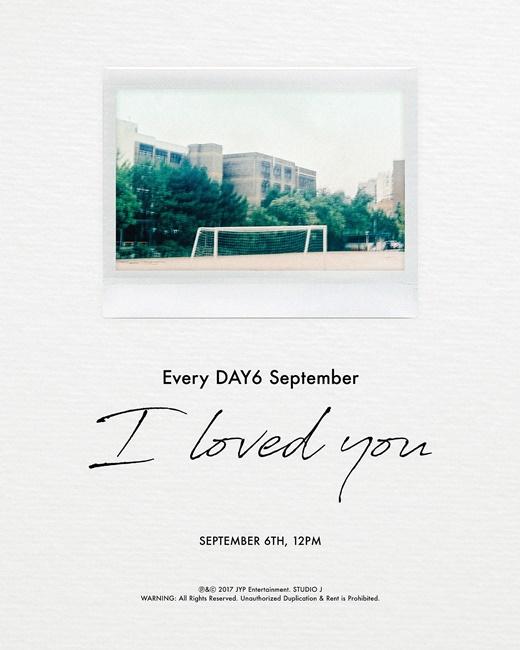 DAY6确定9月6日回归 新曲讲述难忘回忆