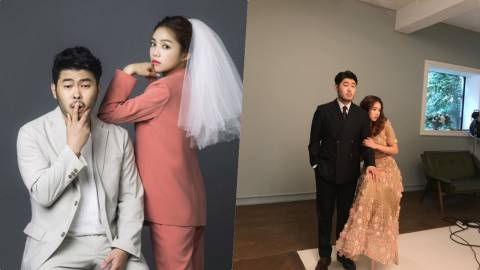 金基方和未婚妻金喜京将于9月30日举行婚礼 公开另类婚纱照