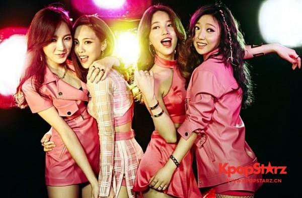 JYP与Min合约到期不续约 Miss A实际上已经解体