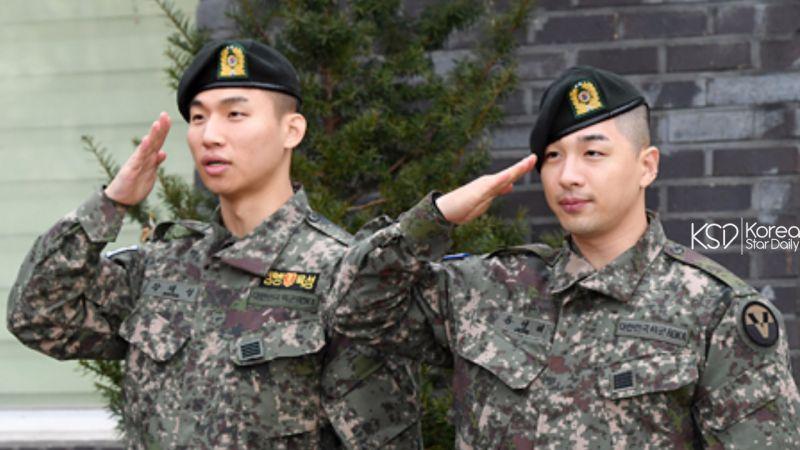 BIGBANG全员服役完毕,大声和太阳今日(10日)退伍!
