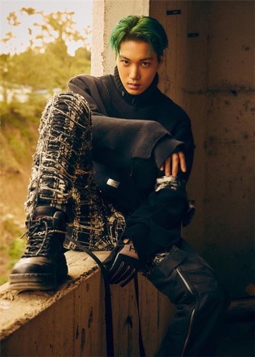 EXO正规6辑KAI个人预告公开 展现强烈男性魅力