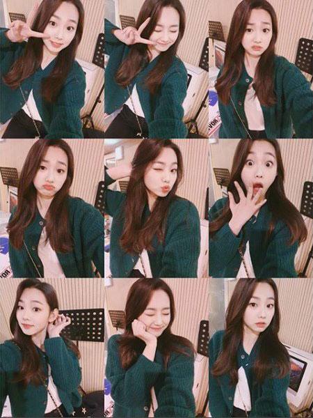 gugudan 康美娜 生日快乐!