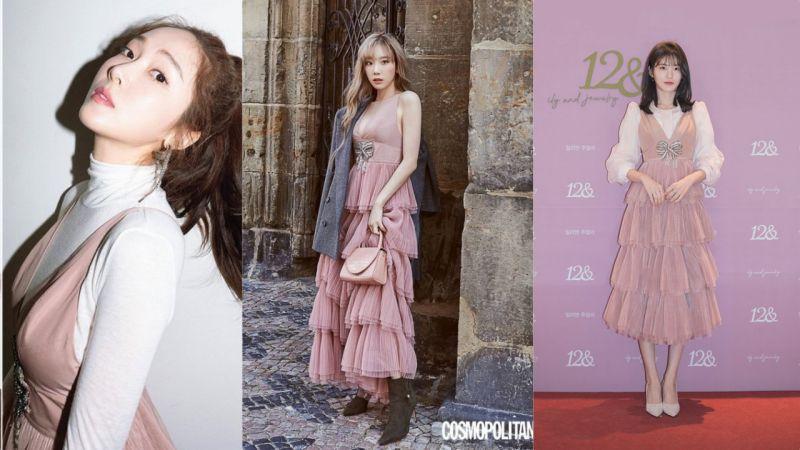 【撞衫不可怕系列】这条裙竟然夺得太妍&Jessica&辛睿恩三位女神的青睐?