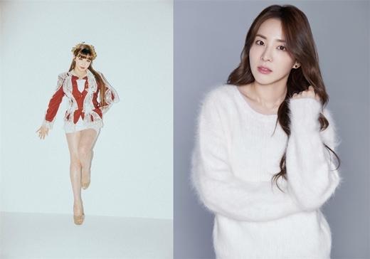 2NE1成员朴春&朴山多拉 将于12月10日发行合唱曲《初雪》