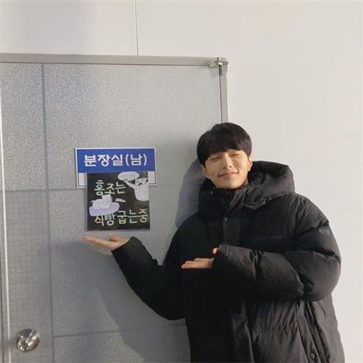 金明洙L公开新剧《快过来》拍摄日常 明朗微笑展现可爱魅力