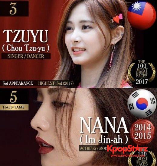 成功打败NANA TWICE子瑜成功登顶亚洲最美!