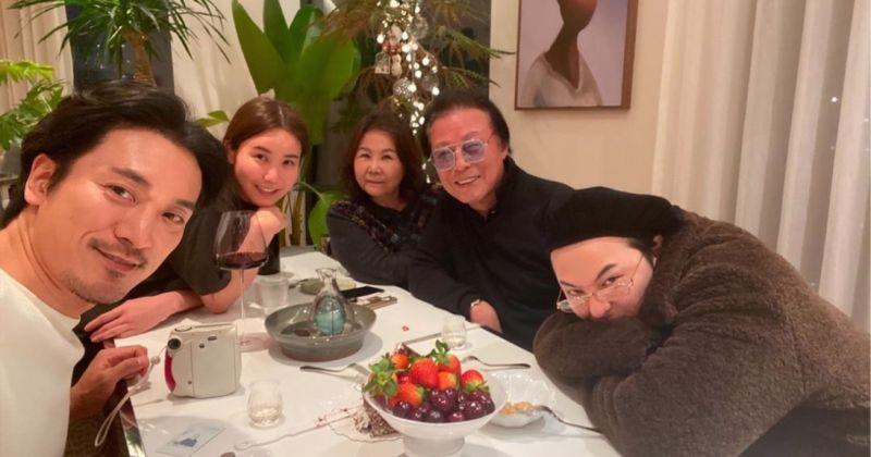 GD全家人一起过年! 姐夫金敏俊也一起来了~