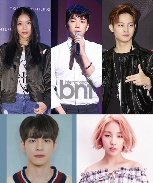 JYP家族婑斌祐荣JB等确定出演《看见你的声音5》