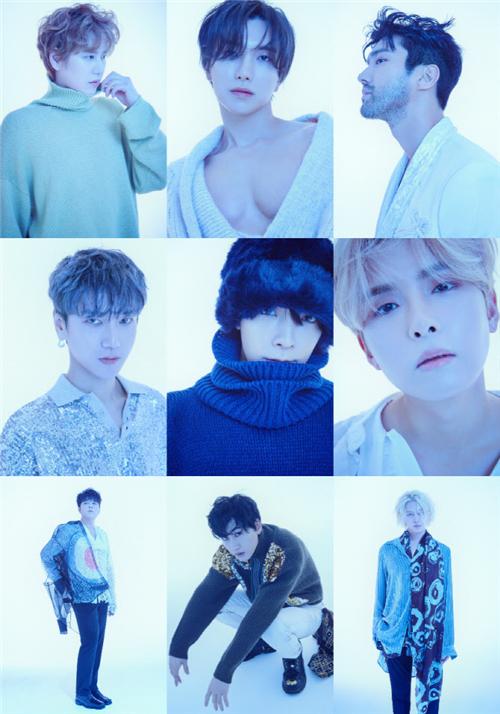 Super Junior部分成员今日参与录制《看见你的声音7》