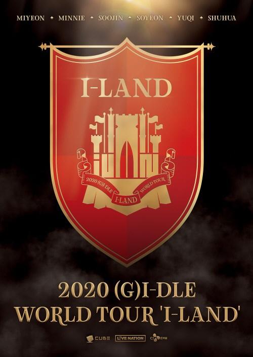 (G)I-DLE确定举办首次世界巡演 预告海报正式公开