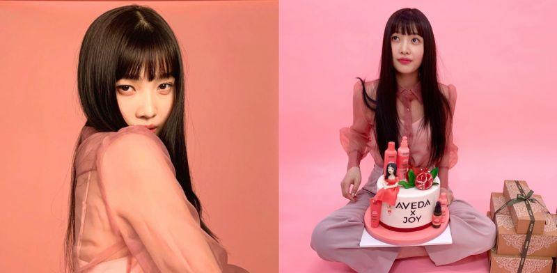 护发品牌新代言人:有著乌黑长发的Red Velvet Joy!
