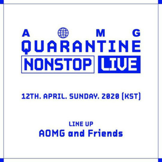 AOMG举办线上Non-Stop Live 全部收益将捐出抗击疫情