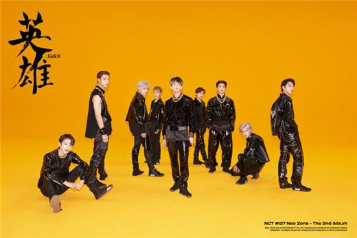 NCT127第二张正规专辑销量突破72万张