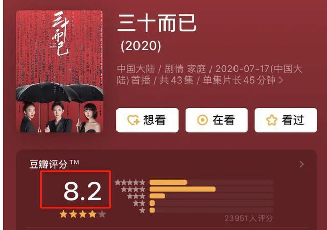 三十而已完整版在线观看 三十而已电视剧(1-43集)全集免费观看